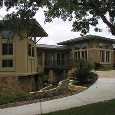 Contemporary Entry by Rob Sanders Designer - Custom Home/Remodel Design