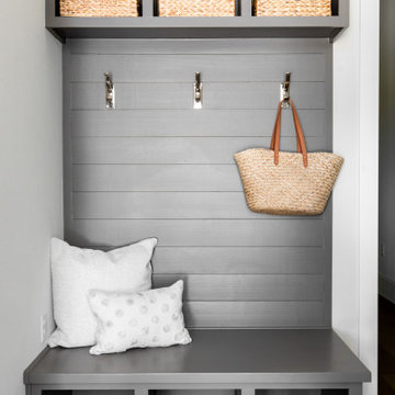 Hill Country Transitional Mudroom