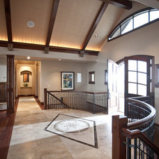 Contemporary Entry by Aneka Interiors Inc.