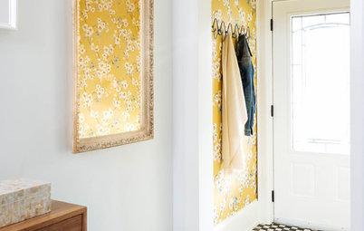 Couleur de printemps : Le jaune mimosa éclaire votre intérieur