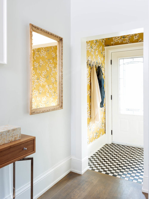 Small Foyer Wallpaper : Entryway wallpaper houzz