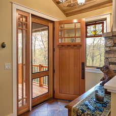 Craftsman Entry by Thomas Lawton Architect