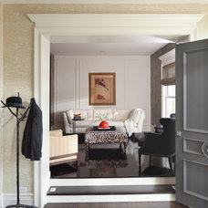 Transitional Entry by Buckingham Interiors + Design LLC