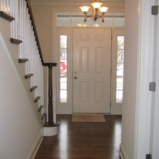Traditional Entry by Michael Bellezza Builders Inc