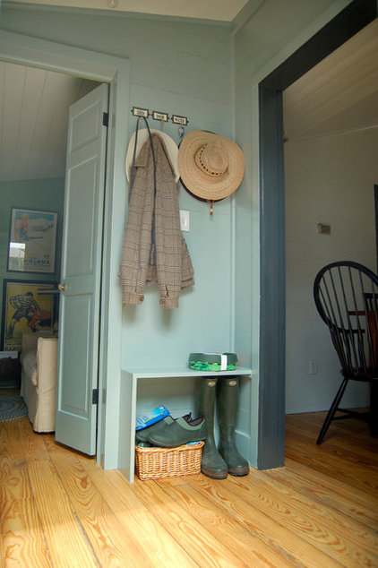 Turn a nook or entry into an organized drop zone with cubbies ...