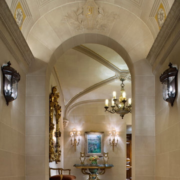 Historic New York City Townhouse Main Entry Vestibule – Major Renovation
