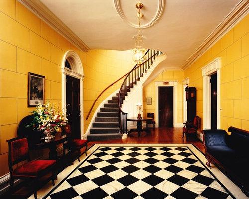 Victorian Foyer University : Victorian entryway design ideas renovations photos with