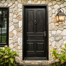 Traditional Entry by Z+ Architects, LLC