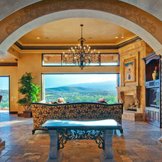 Mediterranean Entry by Panorama Homes