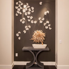 Eclectic Entry by Susan Manrao Design