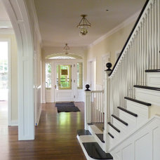 Traditional Entry by Homes By Architects Tour