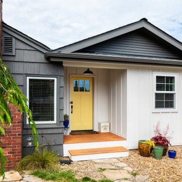 Home Extension with Modern Farmhouse Flair