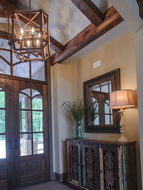 Houzz Rustic Foyer : Rustic nashville entryway design ideas remodels photos