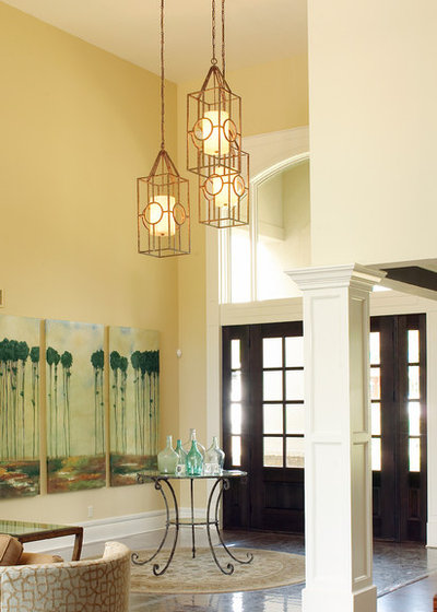 Contemporary Entry by Debbie Basnett Interiors, LLC