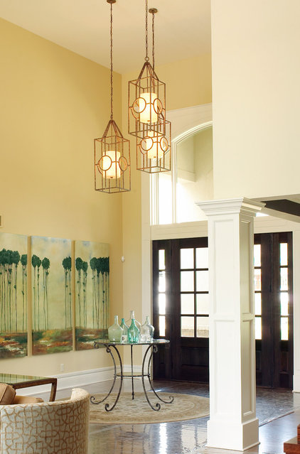contemporary entry by Debbie Basnett, Vintage Scout Interiors