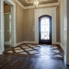 Transitional Entry by Atwood Custom Homes