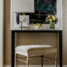 Traditional Entry by Terrat Elms Interior Design