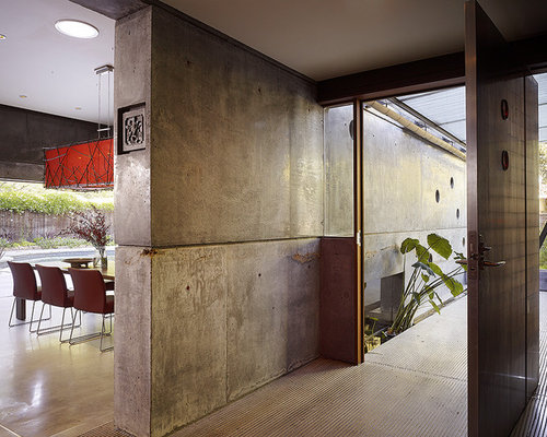 interior concrete wall home design photos