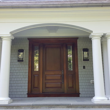 House at Riverside CT Exterior Trim and Siding Interior Trim and Installations
