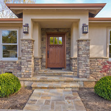 Craftsman Entry by Bill Fry Construction - Wm. H. Fry Const. Co.