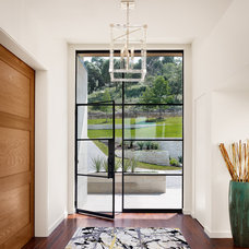 Contemporary Entry by James D. LaRue Architects