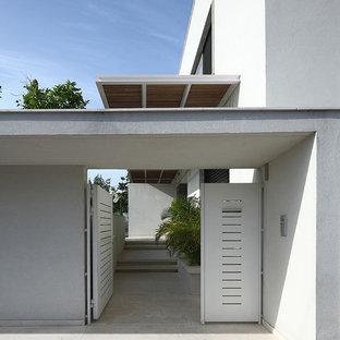 Roof Over Gate Modern Houzz