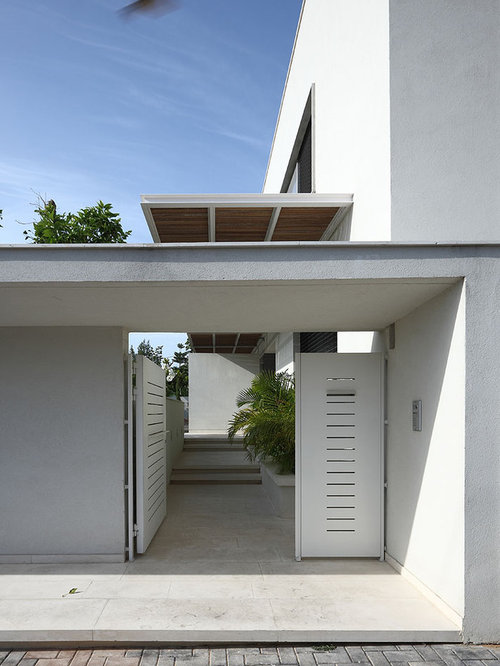 Main entrance gate houzz for Contemporary house main door designs