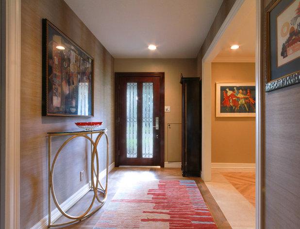 Contemporary Entry by Dena Brody Interiors
