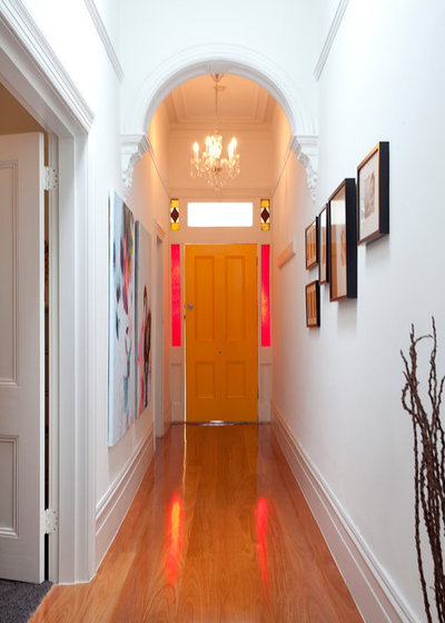 Traditional Entry Houzz Tour: Elsternwick Addition
