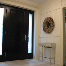 Contemporary Entry by Stacy McLennan Interiors