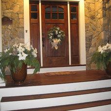 Traditional Entry by Brickstone Development