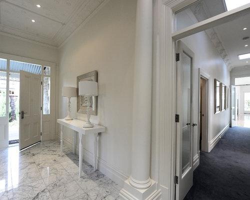 Farmhouse Foyer Edmonton : Traditional adelaide entryway design ideas renovations