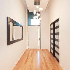 Modern Entry by D.R. Gordon Building