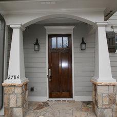 Craftsman Entry by Copperleaf Partners LLC / Copperleaf Residential