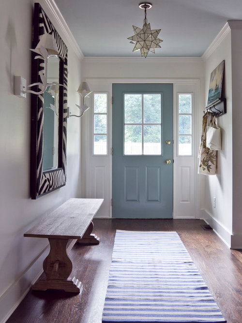 Eclectic Entryway Design Ideas, Remodels & Photos