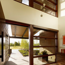 Modern Entry by Carney Logan Burke Architects