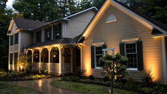 Indianapolis Exterior Home Lighting - Landscape