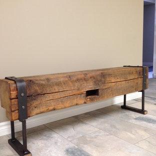 Terrific Barn Beam Bench Houzz Ibusinesslaw Wood Chair Design Ideas Ibusinesslaworg