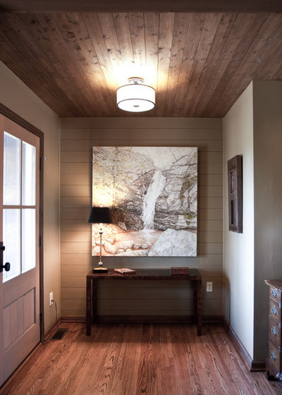 Entry by Studio C Architecture & Interiors