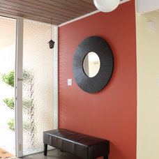 Modern Entry by Story & Space - Interior Design and Color Guidance
