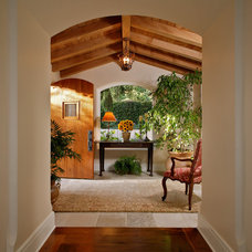 Mediterranean Entry by Tom Meaney Architect, AIA