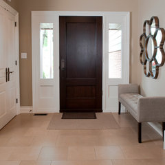 contemporary entry by Structured Creations Inc