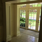 Full Lite Salento Cherry Fiberglass Door Size 2 8 Quot X 6
