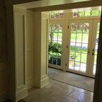 Full Lite Salento Cherry Fiberglass Door Size 2 8 Quot X 6