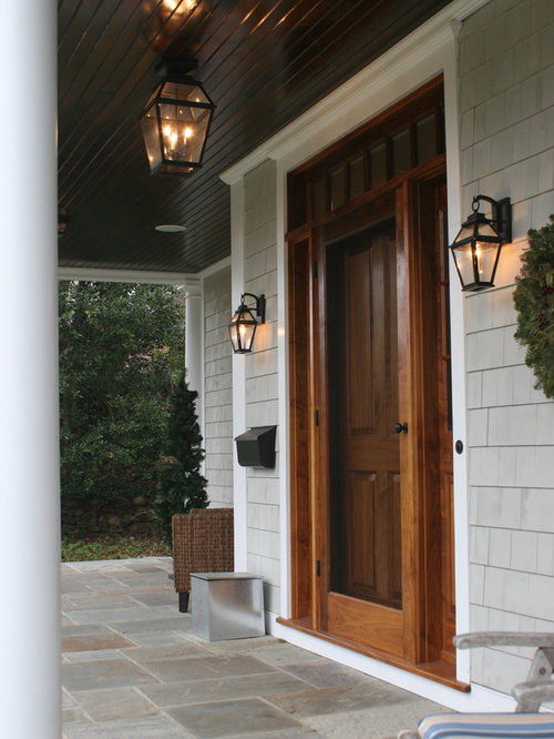 Colonial front storm doors ideas pictures remodel and decor for Front entry doors with storm door