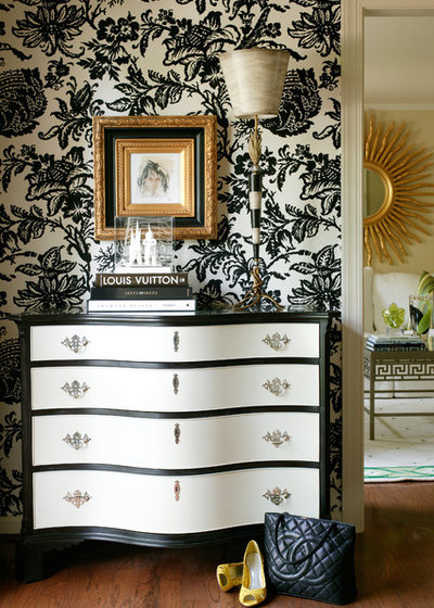 Traditional Entry by Tobi Fairley Interior Design
