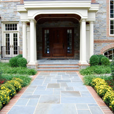 Traditional Entry by Burke Brothers Landscape Design/Build