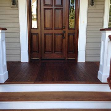 Ipe Wood Front Porch Floor