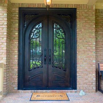 Iron Doors & Double Doors
