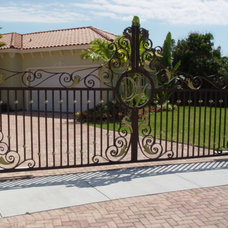 Traditional Entry by International Iron and Stone LLC